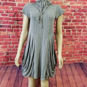 Kensie Tunic top Gray dress size Small